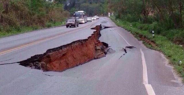 チェンライでマグネチュード6.1タイで大地震 2014/5/15