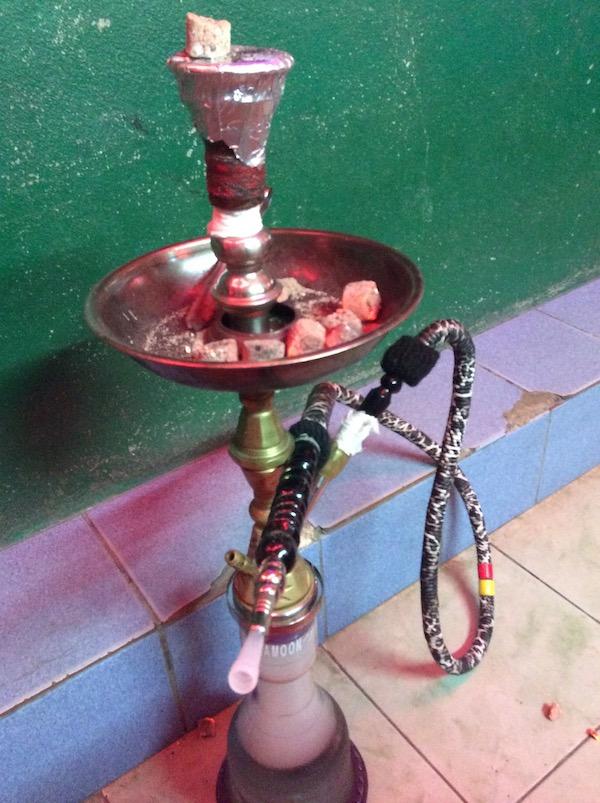 パタヤの水たばこ