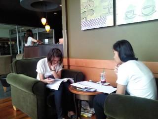 国費で日本留学を目指すタイ人女子学生に日本語を教えた