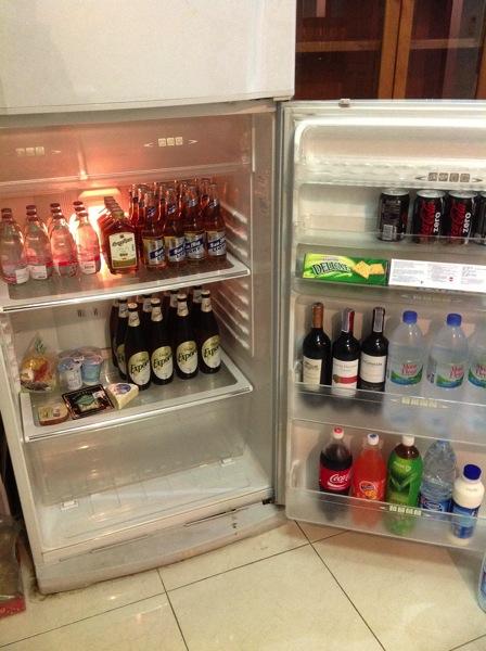 海外移住生活1年目の冷蔵庫の写真