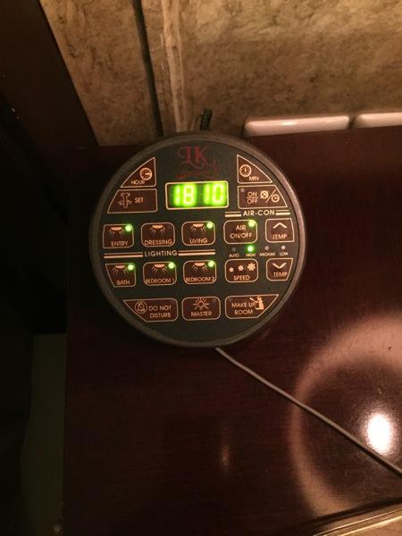 LKルネサンスホテルのリモコン.