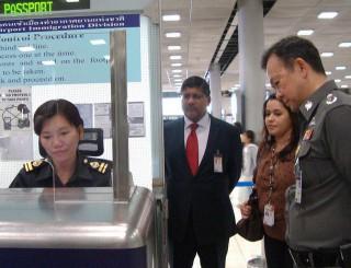 リエントリーの書き方と申請場所2016年チェンマイとスワンナプーム空港