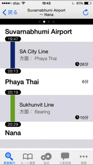 タイの路線図 |iPhoneアプリ