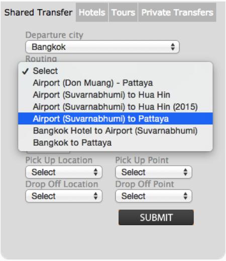 Bell Travel Serviceオンライン予約の手順