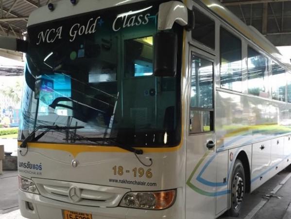チェンマイからパタヤへ寝台バスのチケット購入方法と乗車レビュー