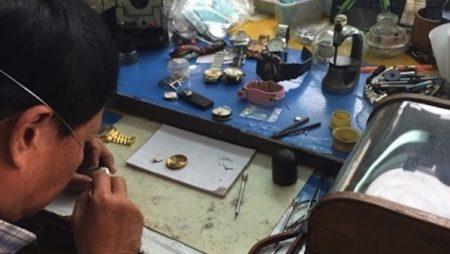 チェンマイで高級腕時計ロレックスを修理した結果