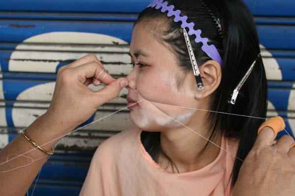 タイで激安フェイスケアを初体験!顔の産毛とり、産毛の脱毛