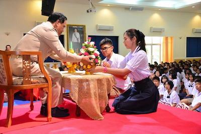 タイの先生の日|中学校