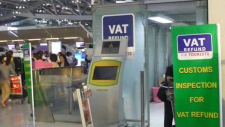 スワンナプーム空港での免税手続き – 付加価値税(VAT)の還付方法