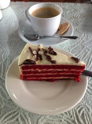 Love at first biteブルーベリーケーキ