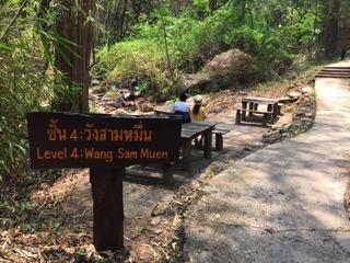チェンマイのメーサー滝レベル4エリア
