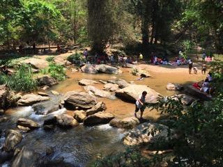 チェンマイのメーサー滝レベル5エリア