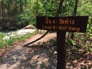 チェンマイのメーサー滝レベル8エリア