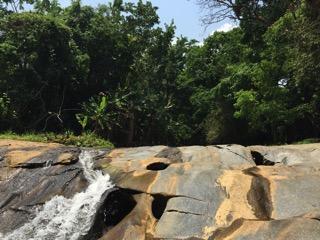 チェンマイのメーサー滝レベル1から3エリア
