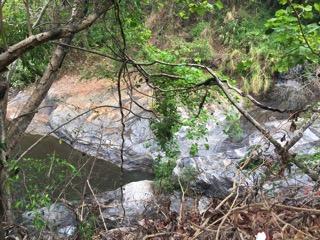 チェンマイのメーグラン滝