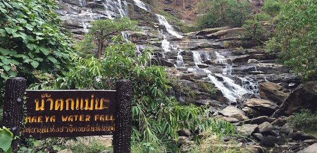 チェンマイのメーヤ滝