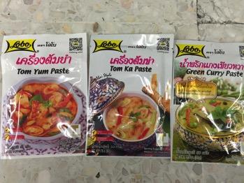 タイ料理ペースト