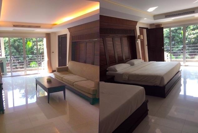 パタヤのオーガストスイートホテル系列3つのホテルに宿泊した感想