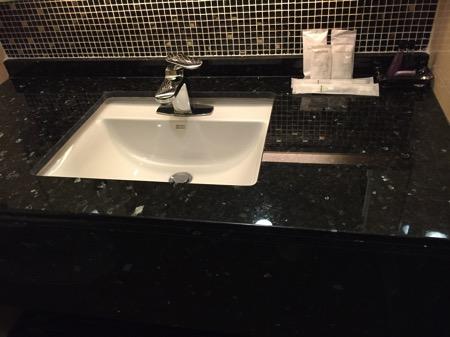 マーチホテルのシャワールーム
