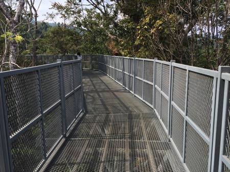 チェンマイにあるタイ最長スカイウォークCanopy Walkwayの入り口