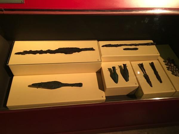 バーンチエン遺跡博物館の青銅器 1