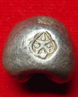 ラーマ2世の時代の通貨に国章として使われたガルダ