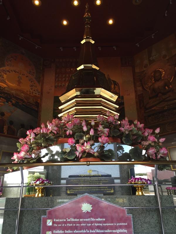 ウドンタニ第三級王室寺院ポティソンポーン寺の境内 1