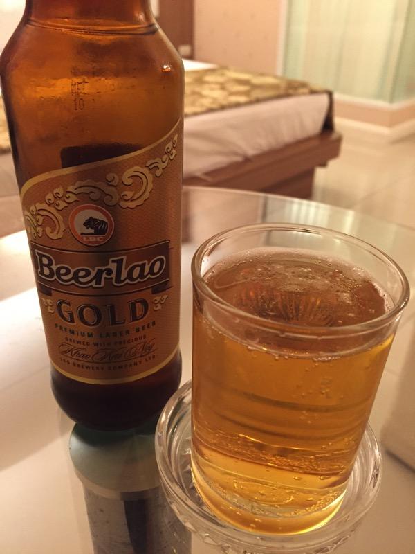 ラオスビールゴールド