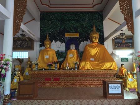 タチレクのパゴダ の仏像