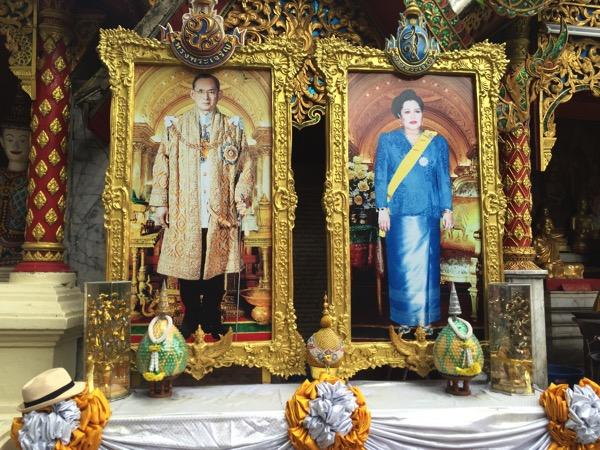 プミポン国王とキリット王妃