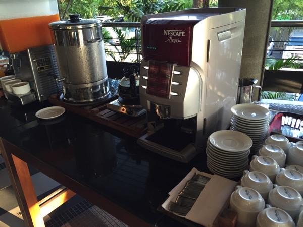 ピサヌロークグランドリバーサイドホテルのコーヒーメーカー
