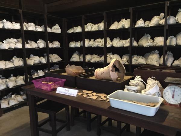 バーンチエン国立博物館の土器のレプリカ 2