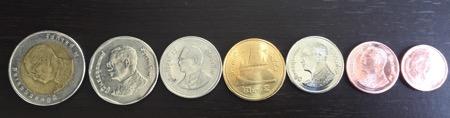 タイの硬貨のデザイン