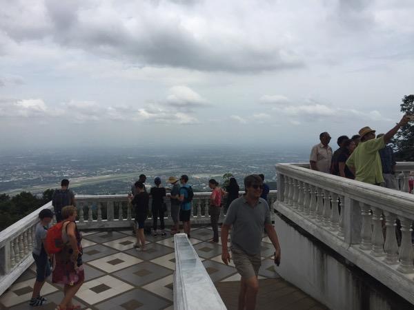 ステープ山山頂からの景色