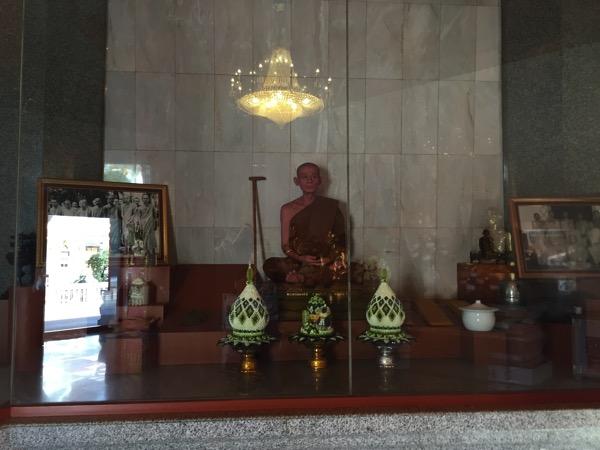 ウドンタニ第三級王室寺院ポティソンポーン寺の住職のプラウドンヤナモリー