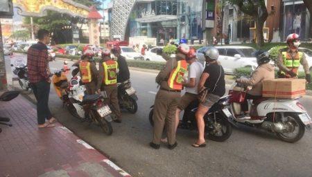 チェンマイレンタルバイクの交通違反取締り場所とローカル交通ルール