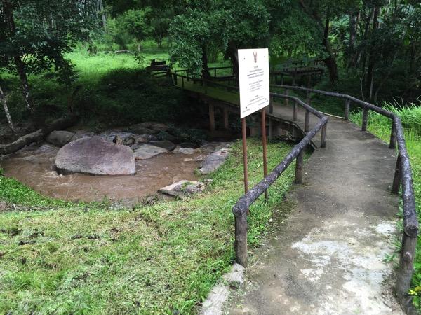 ポーンドゥアット森林公園の遊歩道 1
