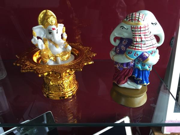 チェンマイのガネーシャ博物舘で買ったガネーシャのお土産