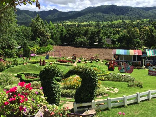 パーイLove Strawberry Paiの庭