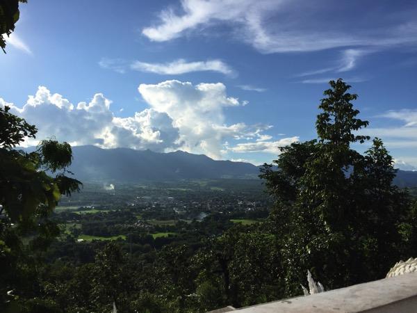 ワットプラタートメーイェンからの風景 2