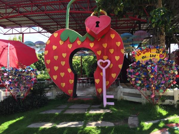 パーイLove Strawberry Paiの入り口