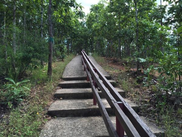 パーイ キャニオンの階段