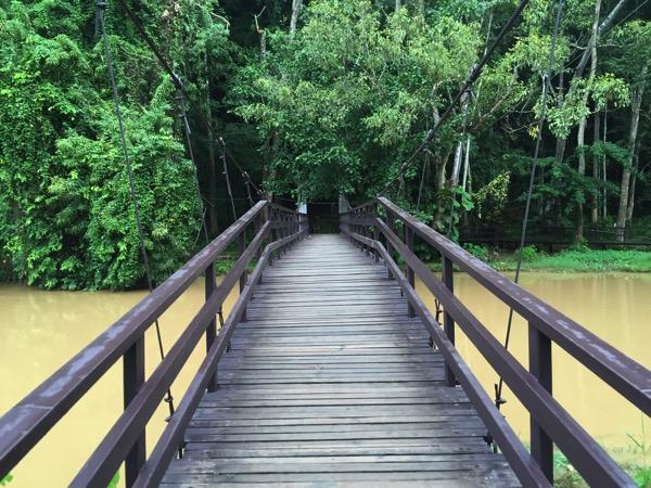 メーホンソンタムプラー国立公園の吊り橋 2