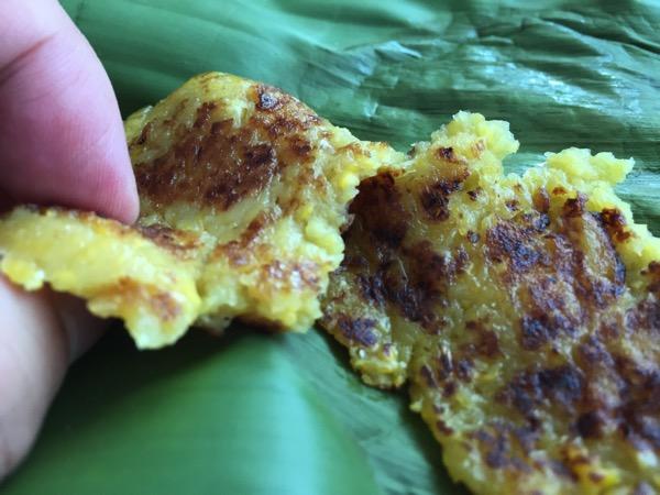 雲南ムスリムのトウモロコシのパンケーキ 2