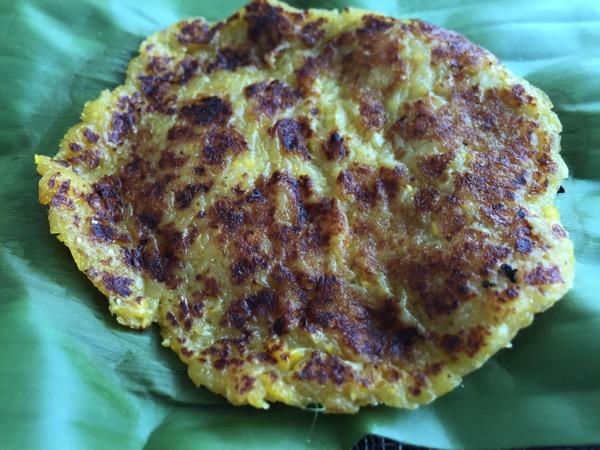 雲南ムスリムのトウモロコシのパンケーキ 1