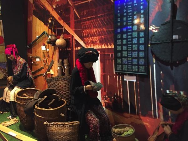 チェンマイ山岳博物館ミヤン族