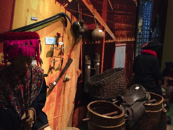 ミヤン族が使っていた道具