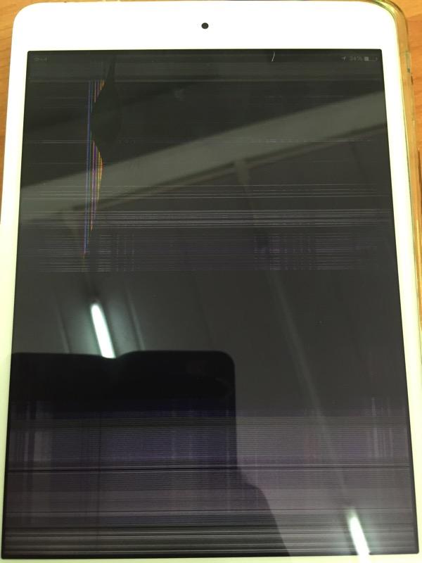 Ipadminiの液晶画面割れ