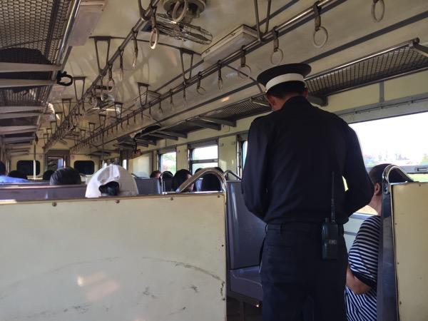 チェンマイからランパーンの普通電車