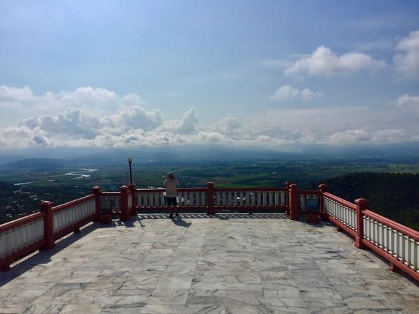 タートン寺山頂からの景色 1